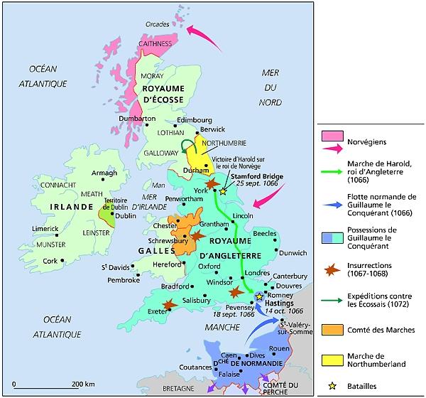 1011277 la conquete de langleterre par les normands