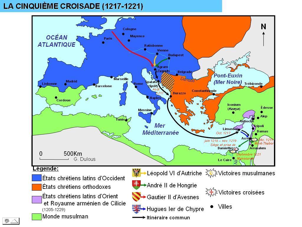 5eme croisade