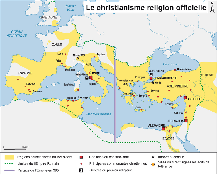Christiansime religion officielle