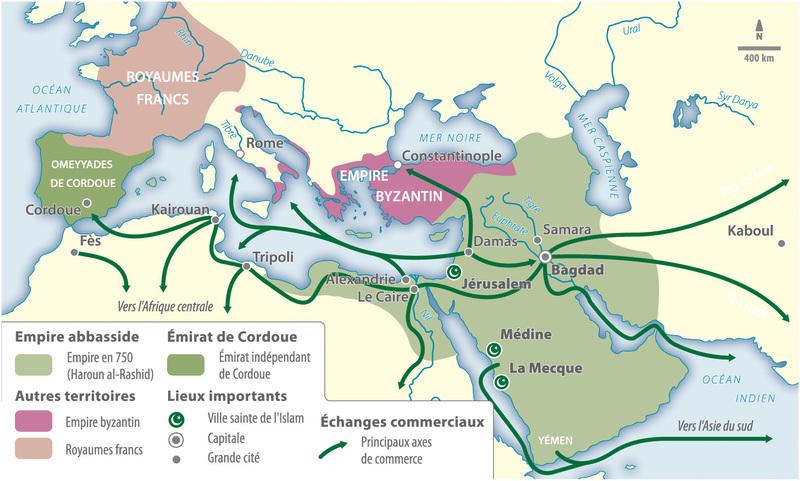 Empire abbasside calife al rachid 1