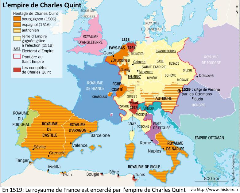 Empire charles quint