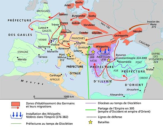 Empire romain 395