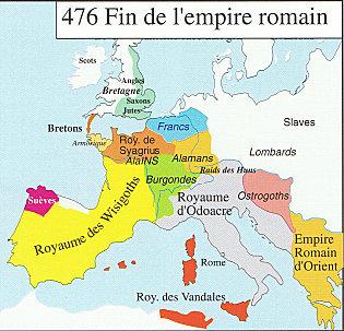 Fin de l empire romain