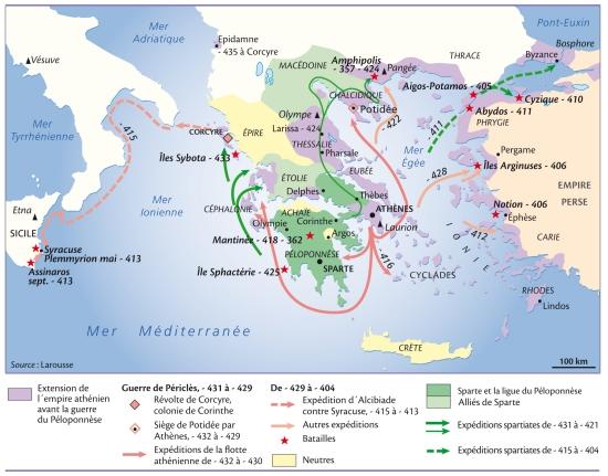 Guerre de peloponnese