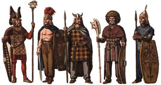 Habits celtes