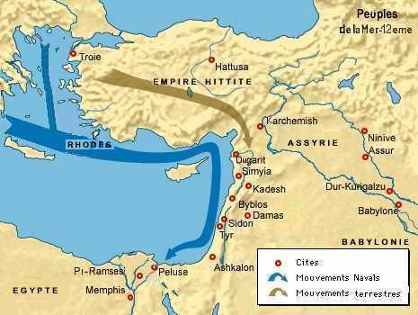 Invasion peuples de la mer