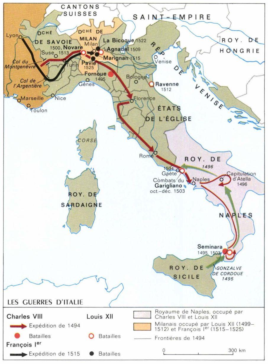 Italie guerres d 001