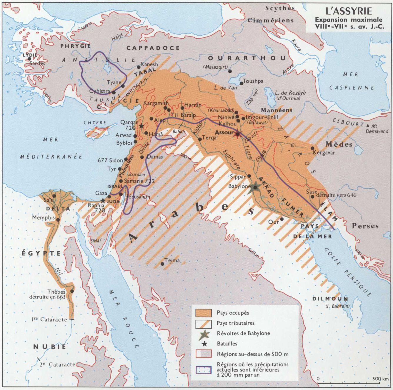 L assyrie