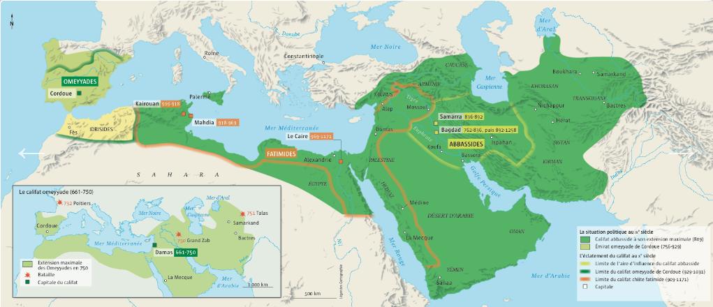 L empire abasside et ses rivaux 1