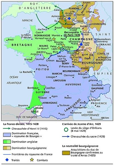 La france 1415 1436