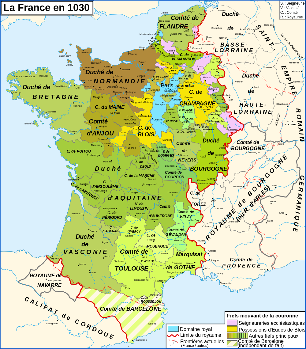 Map france 1030 fr
