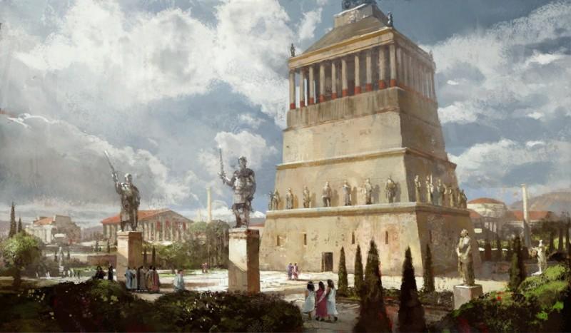 Mausolee d halicarnasse 1