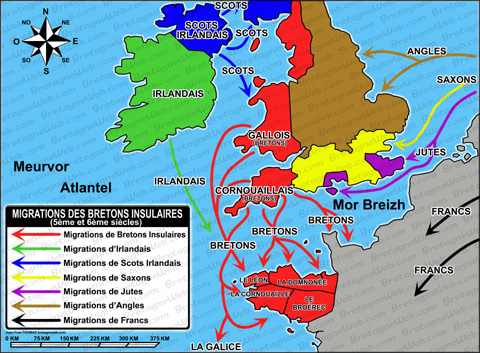 Migrations des bretons