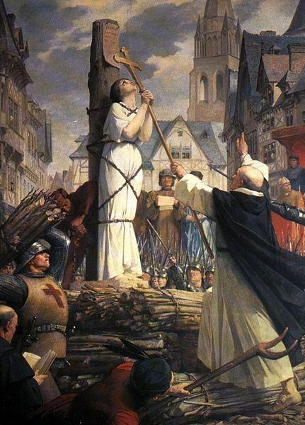 Mort de jeanne d arc par lenepveu 1819 1898 pantheon
