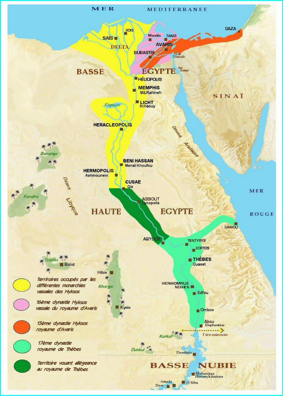 Moyen empires egypte