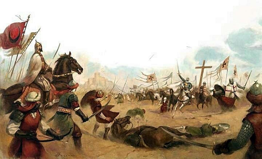 Saladin vs criusaders
