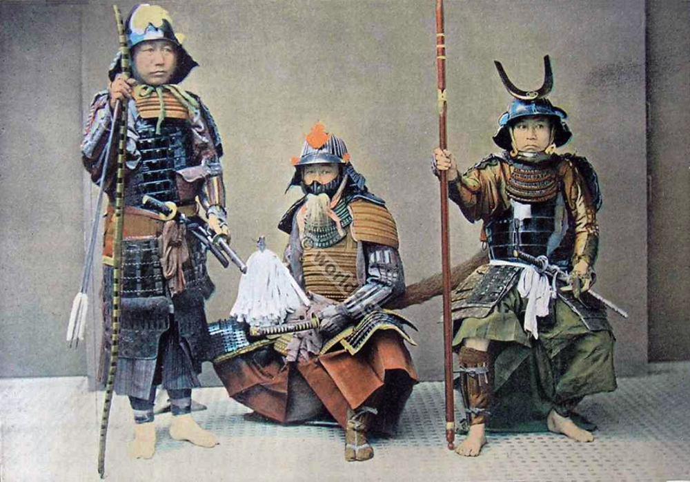 Samurai japonais