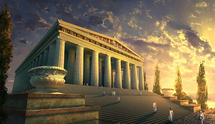 Temple d artemis 1
