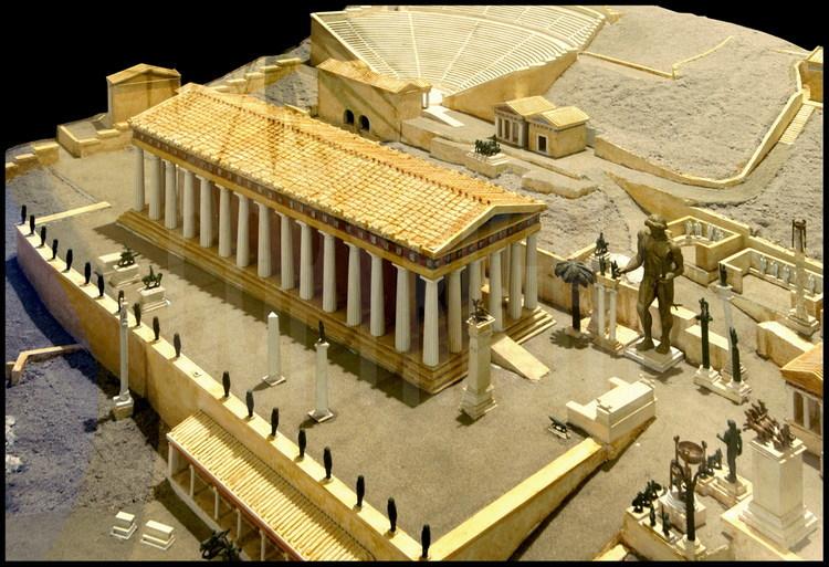 Temple dappollon