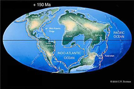 Terre dans 150 mo