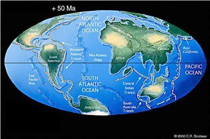 Terre dans 50 mo