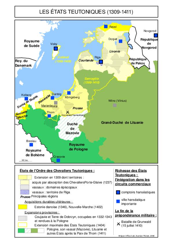 Teutonique 1309 1411